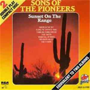 The Sons Of The Pioneers - Sunset On The Range album