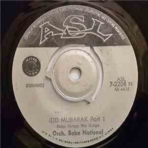 Orch. Baba National - Idd Mubarak album