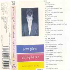 Peter Gabriel - Shaking The Tree - Sixteen Golden Greats album