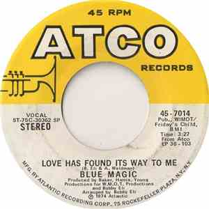 Blue Magic - Love Has Found Its Way To Me / When Ya Coming Home album