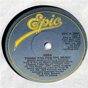 ABBA - Thank You For The Music album