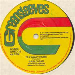 Pablo Gad - Fly Away Home album