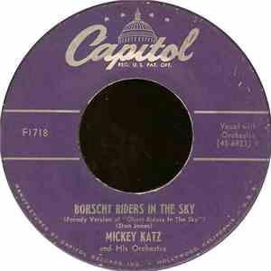 Mickey Katz And His Orchestra - Borscht Riders In The Sky album