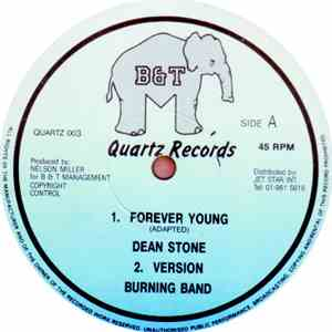 Sugar Minott / Dean Stone  - Break Up To Make Up / Forever Young album