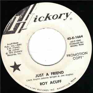 Roy Acuff - Just A Friend album