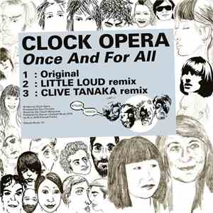 Clock Opera - Once And For All album