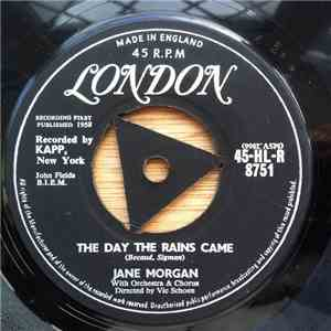 Jane Morgan - The Day The Rains Came album