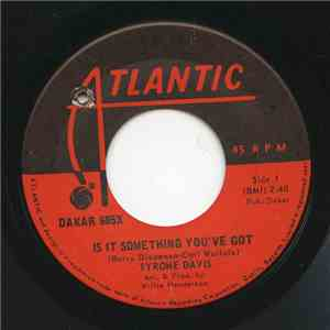 Tyrone Davis - Is It Something You've Got / Undying Love album