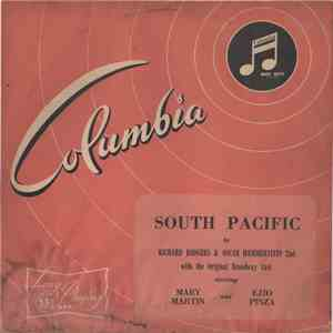 Mary Martin, Ezio Pinza, Richard Rodgers / Oscar Hammerstein 2nd - South Pacific With The Original Broadway Cast album