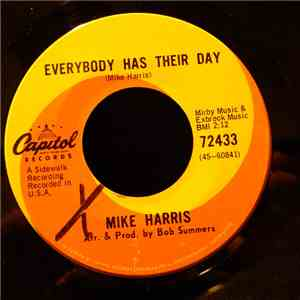 Mike Harris  - Everybody Has Their Day album
